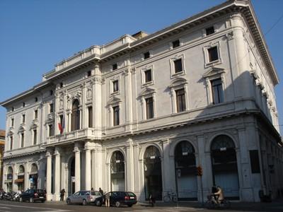 Il palazzo della Camera di Commercio di Ferrara